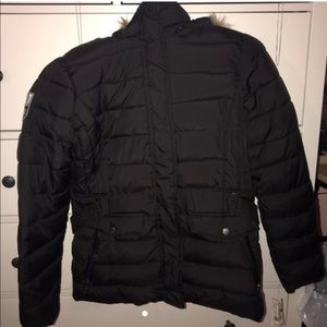 BLACK POLO U.S. ASSN COAT